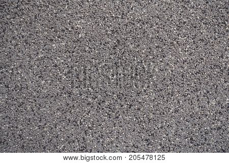 Coarse Plaster Surface On Outside Wall That Consists Of Lime Mixed With Small Gravel