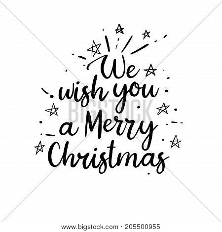photo about Words to We Wish You a Merry Christmas Printable referred to as We Motivation On your own Merry Vector Photograph (Totally free Demo) Bigstock