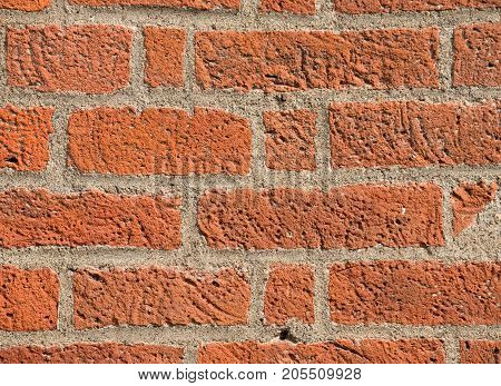 Brick in the wall, red brick wall like texture, background