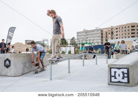 Unidentified Skater During The 4Th Stage Dc Skate Challenge