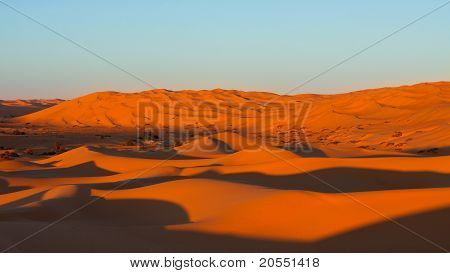 Endless Sand Sea - Sahara Desert, Libya
