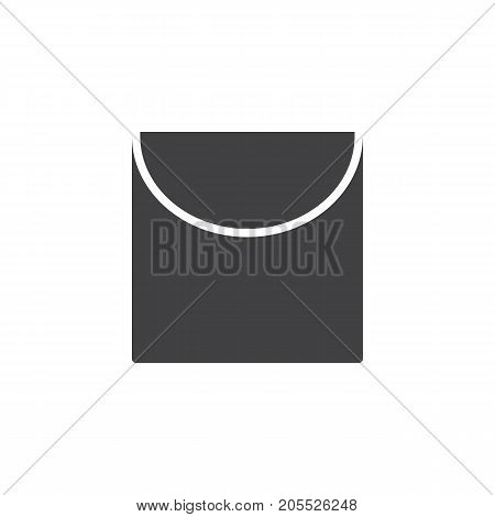 Laundry icon vector, filled flat sign, solid pictogram isolated on white. Symbol, logo illustration.