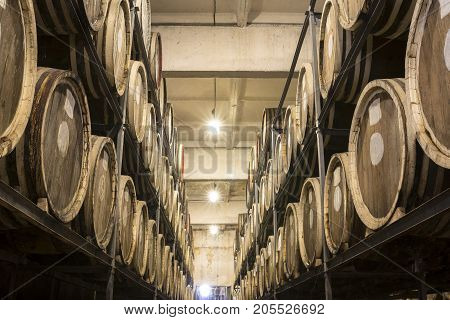 Whiskey And Brandy Distillery