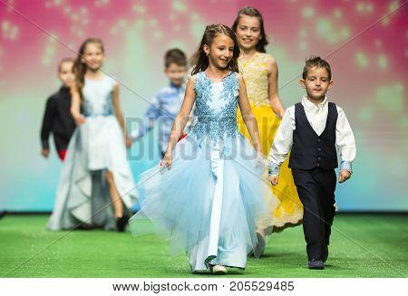 Fashion Show Children Modeling