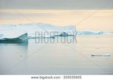 Icebergs In Greenland