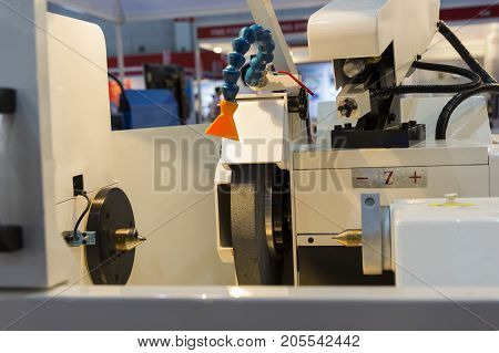a high precision grinding CNC machine;side view