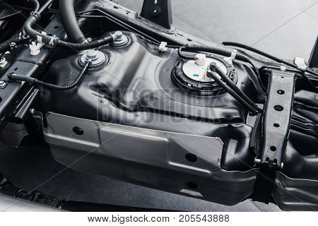 Fuel Tank Inside Car Chassis Underbody Clean New From Factory