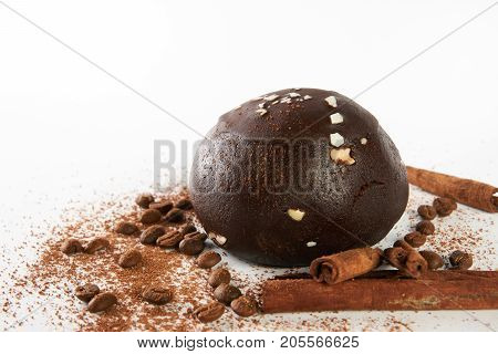 Chocolate Ball Potatoes Truffle Cake