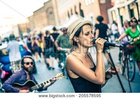 Buskers Festival Is An International Street Artists Event