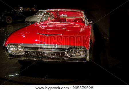 1963 Ford Thunderbird Italian Concept Car Presented In Blackhawk Museum. Ca. Usa