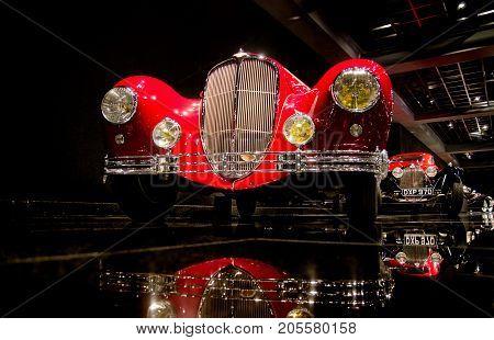 1947 Delahaye Type 135Ms Guillore Roadster Presented In Blackhawk Museum. Ca. Usa