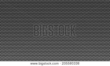 black and white triangles. abstract background gray triangles pattern. monochrome grunge texture. halftone effect. vector illustration.