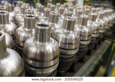 Production of Drive shafts in its factory