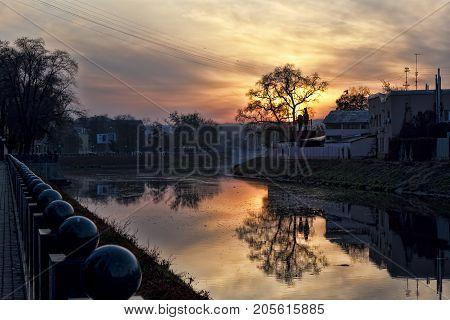 Sunset Over Kharkiv