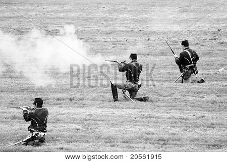 Soldiers Firing