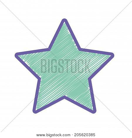 rating star symbol and element status vector illustration