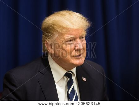 President Of The United States Donald Trump