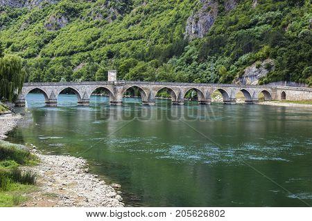 Mehmed Pasha Sokolovic Bridge At Visegrad