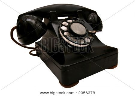 Beat-Up Retro Phone