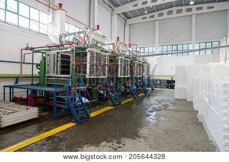 Factory Shop For Foam Plastic Production