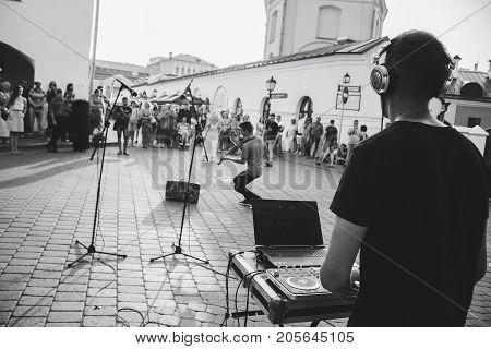 Minsk, Belarus.august 12, 2017.