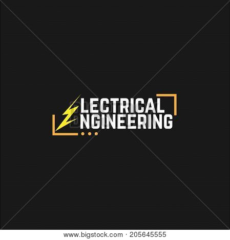 Electricity and energy icon set. Vector illustration. electrical engineering. vector. logo electrical engineering