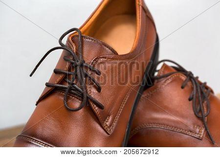Vintage Fashion Leather Men Shoes Luxury Design.