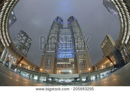Metropolitan Government Building Of Tokyo, Japan