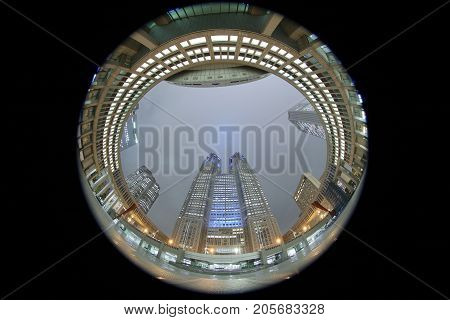 Tokyo Metropolitan Government Office Building,