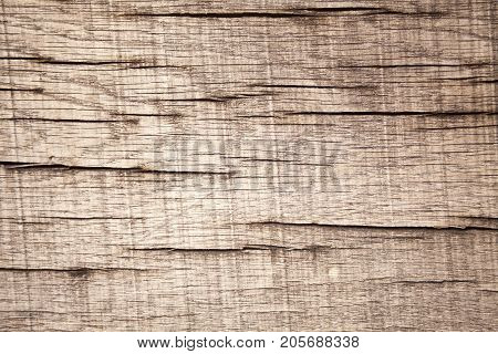 Surface eroded by time Old wood as background.