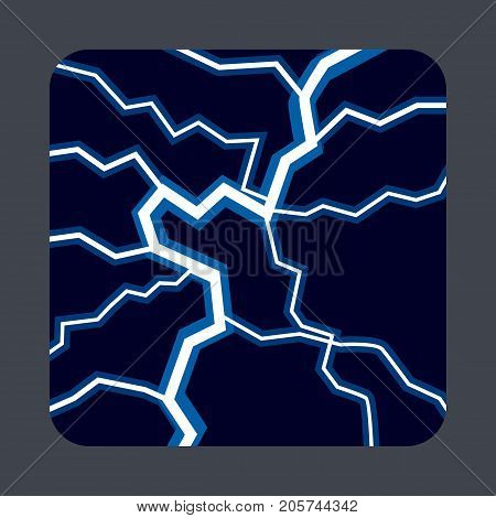 Lightning light concept background. Cartoon illustration of lightning light vector concept background for web design