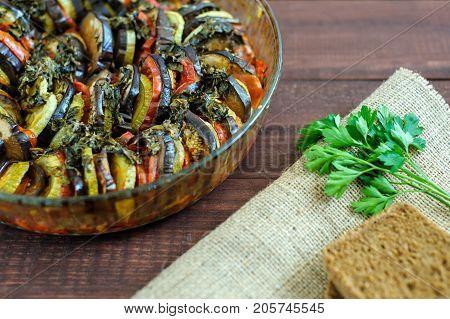 Vegetable Ratatouille Homemade Preparation Recipe