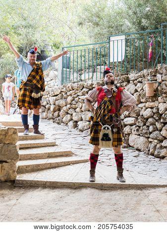 Jerusalem Israel September 23 2017 :Participants in the festival