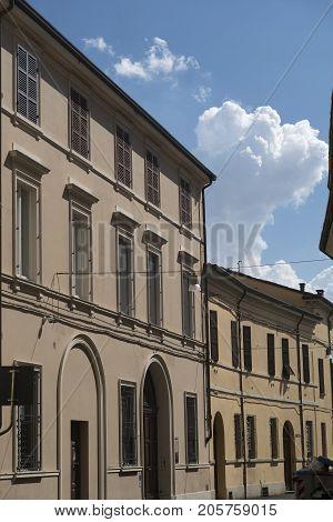 Forli (Emilia Romagna Italy): exterior of historic buildings