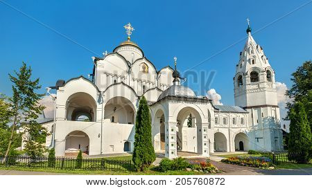 Cathedral of the Intercession of the Theotokos in Suzdal, the Golden Ring of Russia