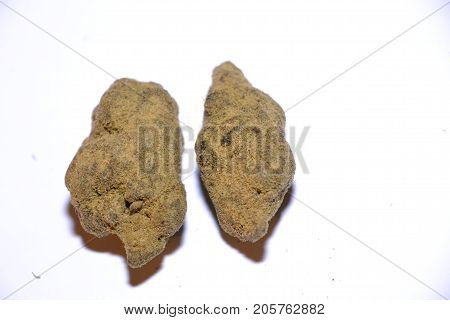 moonrocks are a cannabis bud rolled in hash oil then covered in kief. this makes it one of the strongest medical marijauna strains out there
