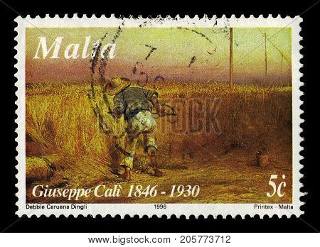 Malta - CIRCA 1996: A stamp printed in Malta shows