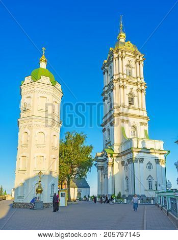 Two Towers Of Pochayiv Lavra