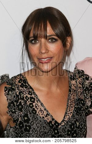 NEW YORK-SEPT 08: Actress Rashida Jones attends Daily Front Row's Fashion Media Awards at Four Seasons Hotel New York Downtown on September 8, 2017 in New York City.