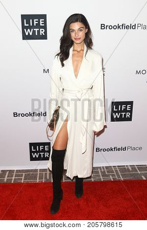 NEW YORK-SEPT 08: Model Mariah Strongin attends Daily Front Row's Fashion Media Awards at Four Seasons Hotel New York Downtown on September 8, 2017 in New York City.