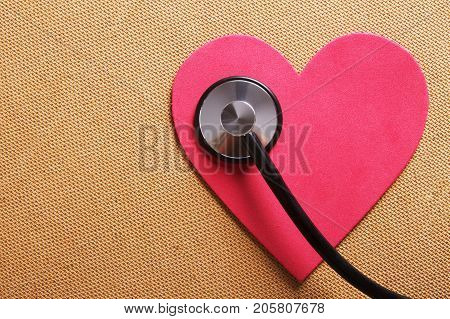 a conceptual image of a heart and health.