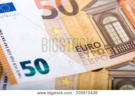 New (Cyrillic) version of 50 euro banknote