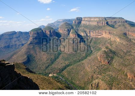 Blyde River Canyon - The Three Rondavels, South Africa