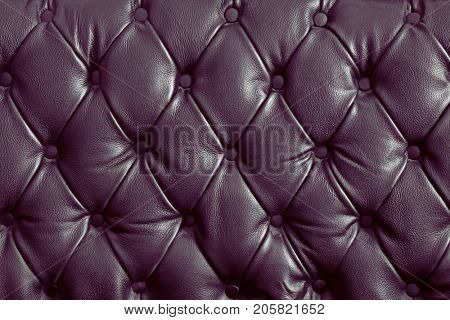pattern of violet genuine leather texture using as background