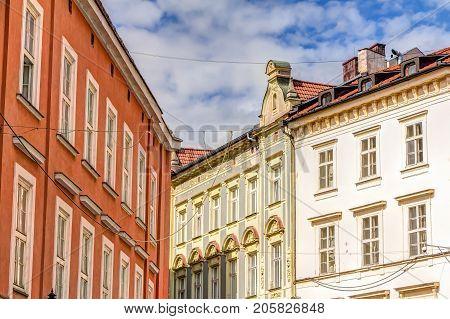 Buildings In Bratislava