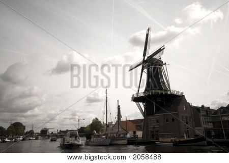 Dramatic Windmill