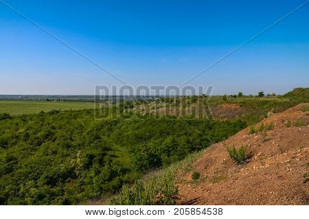 Silviculture Around The Clay Quarry