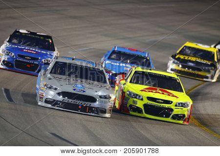 September 09, 2017 - Richmond, Virginia, USA: Danica Patrick (10) brings his car through the turns during the Federated Auto Parts 400 at Richmond Raceway in Richmond, Virginia.