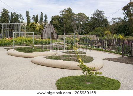 Little Sprouts Kitchen Garden, Adelaide Botanic Garden