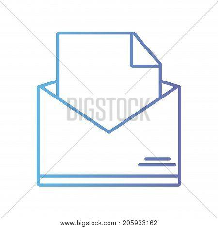 line folder file document information archive vector illustration